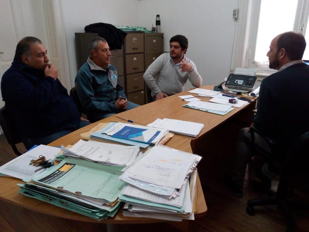 Firma de convenio con Centro de excombatientes de Malvinas de Chacabuco