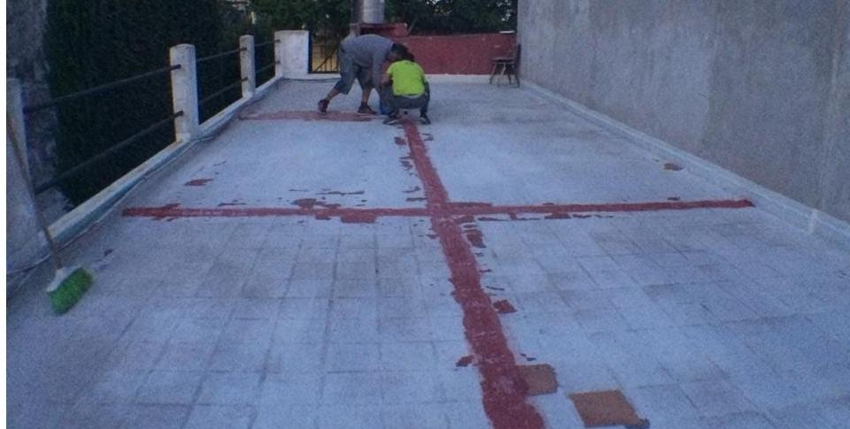 Trabajos de mantenimiento en la Casa del Estudiante de Chacabuco en CABA