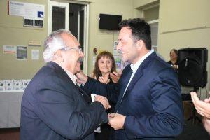 Aiola entregó medallas por la jubilación de empleados municipales