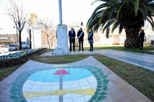 Acto protocolar por el 25 de Mayo en Chacabuco