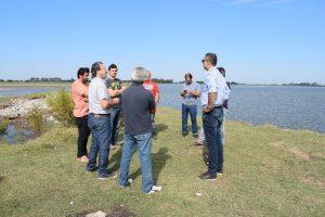 Hidráulica de la Provincia: Compuerta de la laguna de Rocha