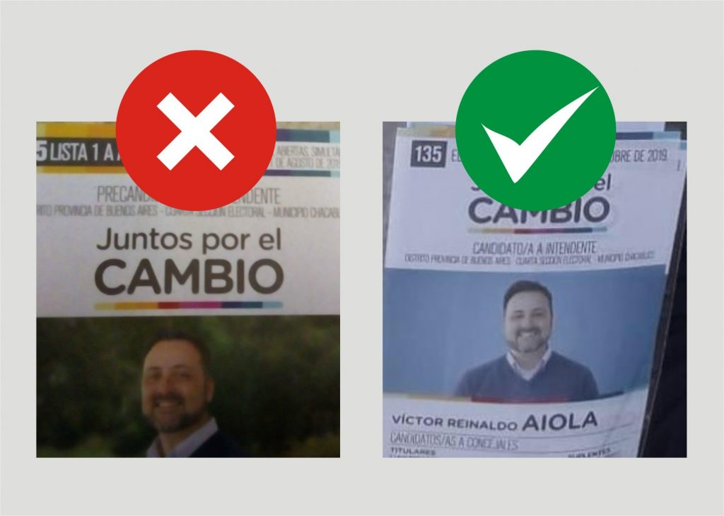 Campaña sucia: Reparten boletas de las PASO