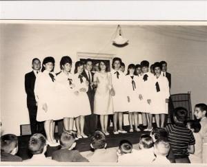 Primeros Egresados de Peritos Mercantiles, año 1966.