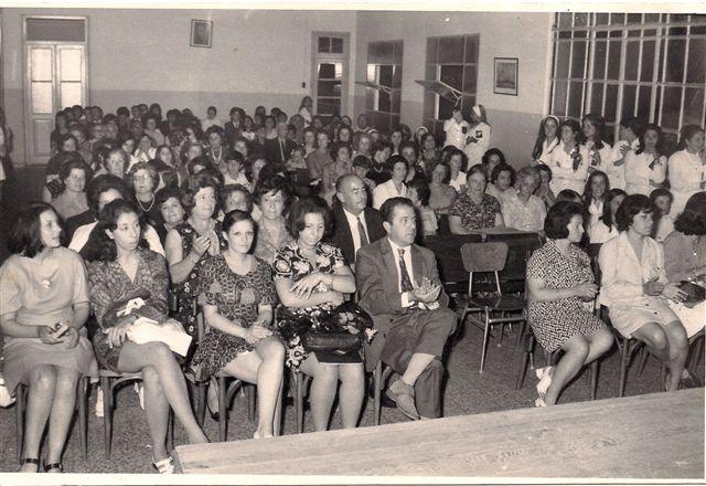 Acto de Fin de Curso 1972.