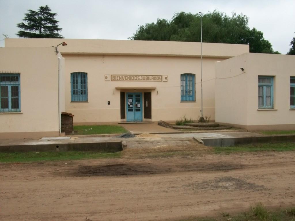 Antiguo edificio dónde comenzó a funcionar la Escuela Media Nro. 2.