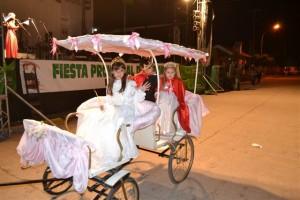 Hada Primavera –Pierina Berón- y sus Pimpollos –Antonella Unanue y Samuel Cogo- .
