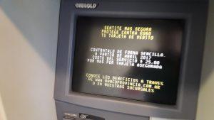 Habrá reposición de dinero en cajeros del BAPRO.