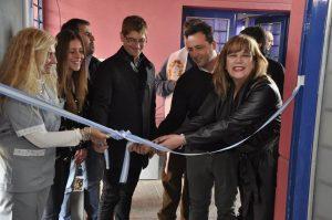"""Aiola inauguró el primer """"Centro de Medio Día""""."""