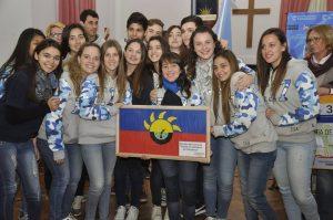 Alumnos de 6º Año del Instituto Santa Ana de O´Higgins.