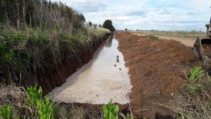 Canal aliviador de agua para O'Higgins