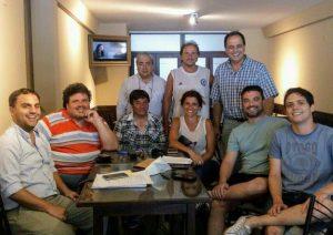 Entrega de subsidio al Círculo de Periodistas.