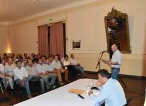 Aiola retomó sus funciones con amplia reunión de gabinete