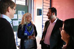 El Intendente Municipal visitó el Centro de Medio Día