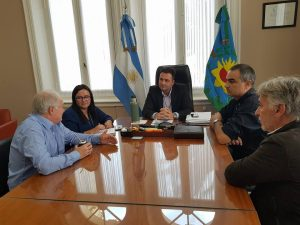 El Intendente Municipal recibió a autoridades del INTA