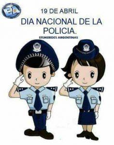 Día Nacional del Policía.