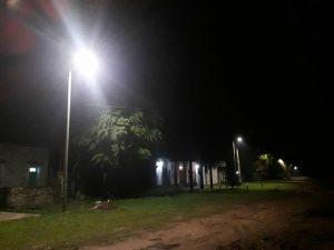 Luces LED en Cucha Cucha.