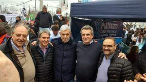 En el acto de Unidad Ciudadana en Ensenada