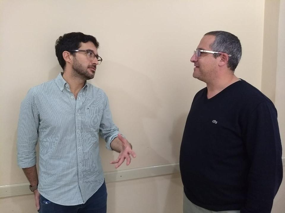 Sebastian Alonso y Mariano Frassa