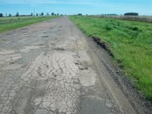 Imagen del acceso a Castilla en la actualidad.