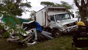 Imagen del fatal accidente.