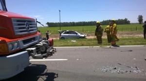 Imagen del accidente.