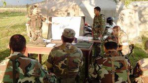 Adiestramiento del Ejército en Chacabuco y Junín.