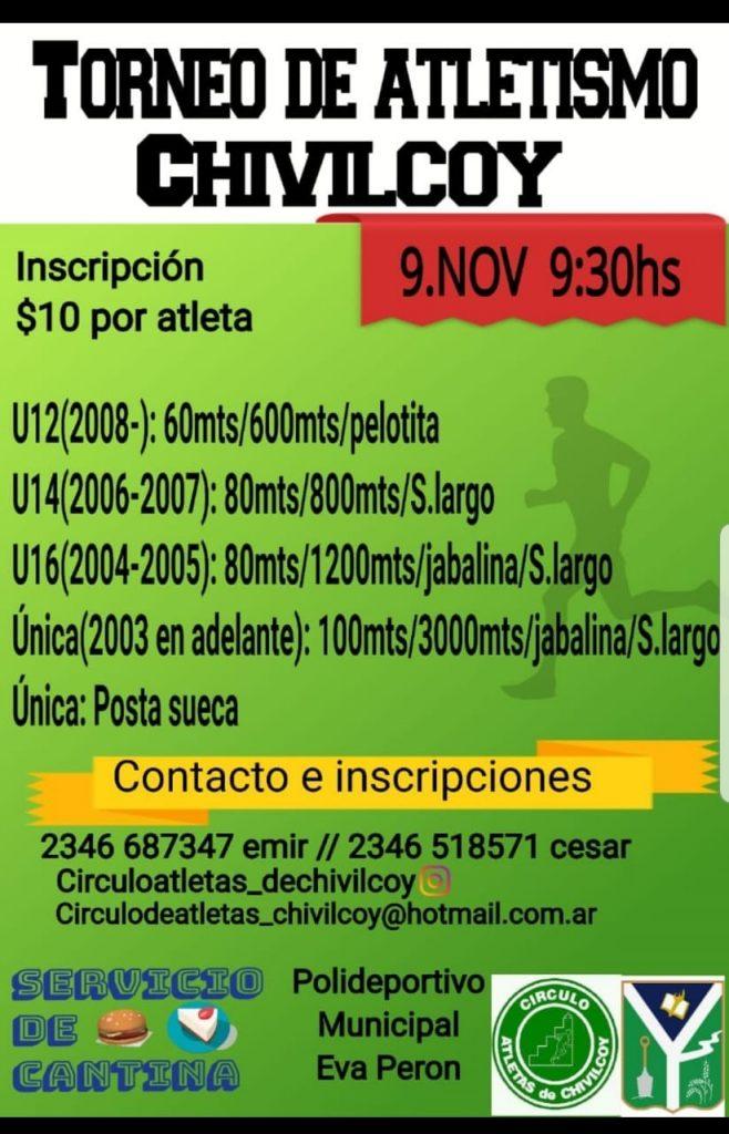 Torneo de Atletismo en Chivilcoy