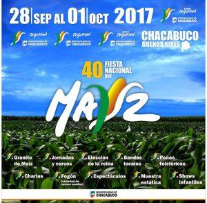 Detalles de la 40º Fiesta Nacional del Maíz