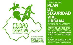 """""""Plan de seguridad vial urbana""""."""