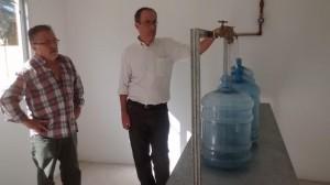 Sala de Tratamiento de Agua por Osmosis Inversa.