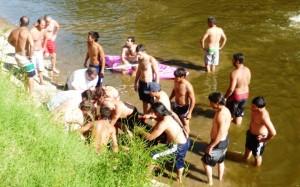 Joven de 22 años se ahogó en el río Arrecifes.