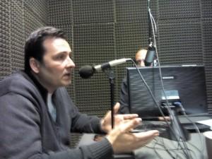 Aiola en Radio Chacabuco.
