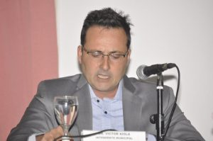 Intendente Municipal, Dr. Víctor Aiola