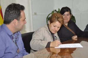 Firma de convenio con Cooperativas de Trabajo.