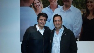 Jorge Macri y Víctor Aiola.