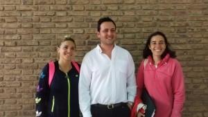 Milagros Marveggio en la Secretaría de Deportes y Juventud.