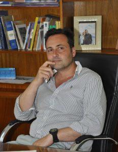 Víctor Aiola, Intendente Municipal.