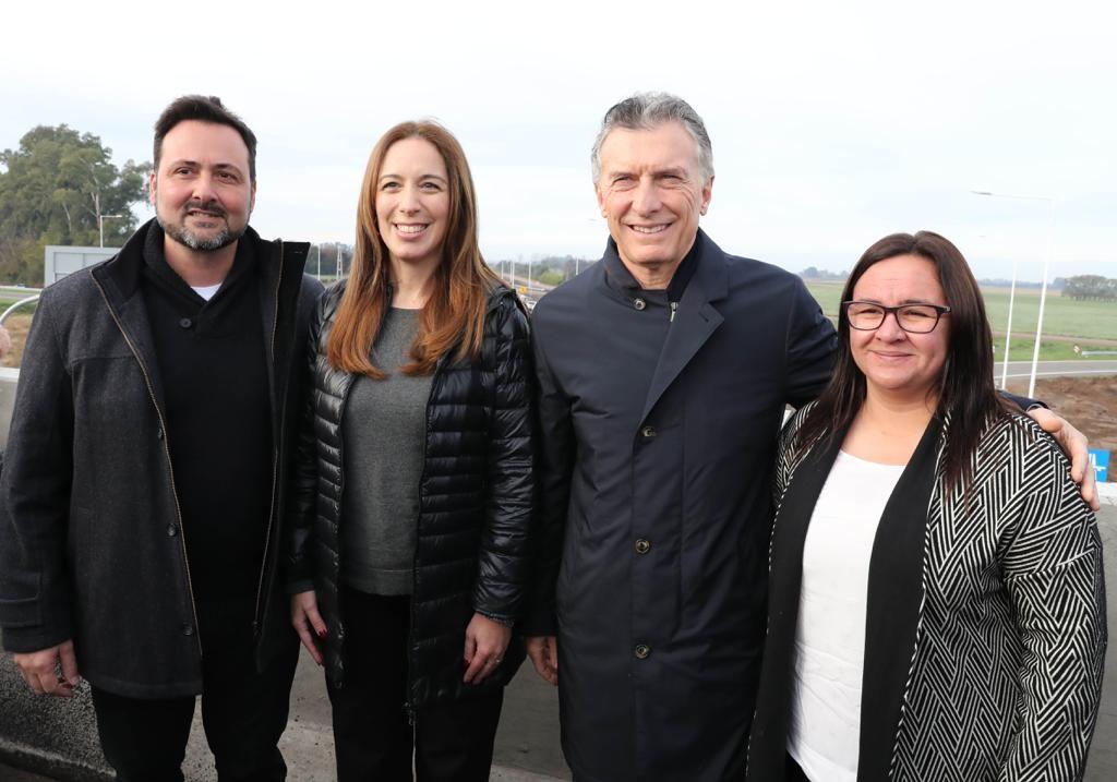 Aiola, Vidal, Macri y Marchesse
