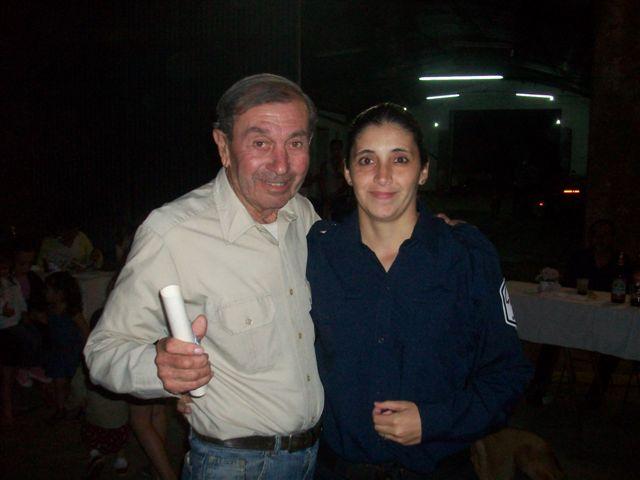 A Rubén Rotondaro entregó Soledad Roldán.