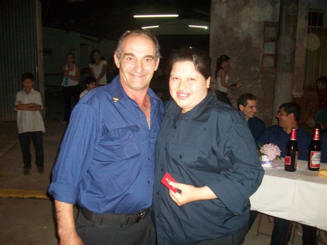 A Daniel Stella  entregó Vanesa Aguirre.