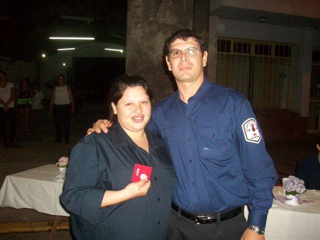 Vanesa Aguirre recibe por Lisandro Quevedo de José María Petignat.