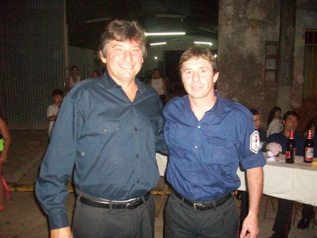 A Adrián Ostolaza  entregó Santiago Charini.