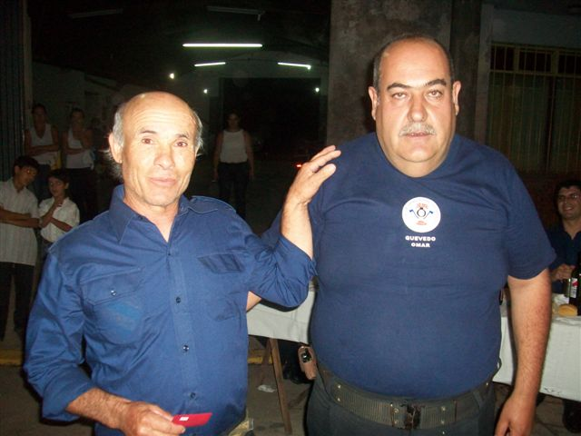 A Roberto Capeli entregó Omar Quevedo.