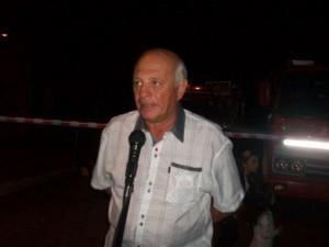 El Delegado Municipal Micucci al hacer uso de la palabra.