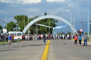 Inauguración del Arco de entrada a Chacabuco. Foto gentileza: www.chacabuco903.com.ar