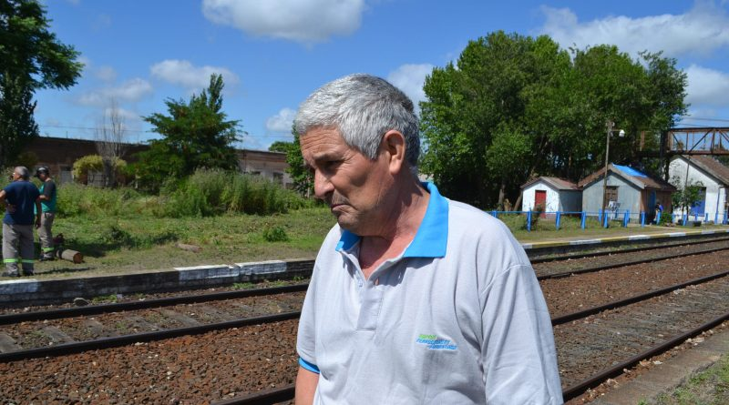 Pedro Saldañez, Supervisor Vía y Obras de Trenes Argentinos, Línea San Martín