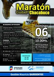 Maratón Ciudad de Chacabuco.