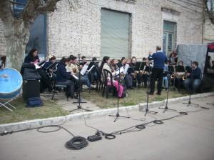 """Banda Municipal """"Bimbo Marsiletti""""."""