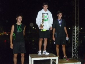 Gianfranco Barranco ganador en Chivilcoy.