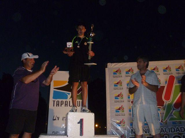 Gianfranco en el podio.
